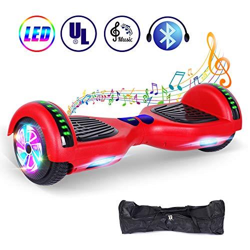 jolege 6.5'Ruote Hoverboards Smart Electric Auto bilanciamento Scooter per Bambini e Adulti, UL2272...