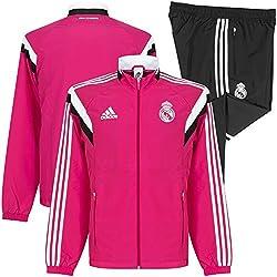 adidas F84081 - Chándal para niño, Rosa (Blast Pink F13/Black/White), 164 EU