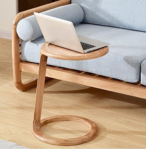 CLOTHES- Stile scandinavo Soggiorno semplice in legno Divano laterale Piccolo tavolino da caffè Scaffali Fioriera Rack ( Colore : Colore del legno )