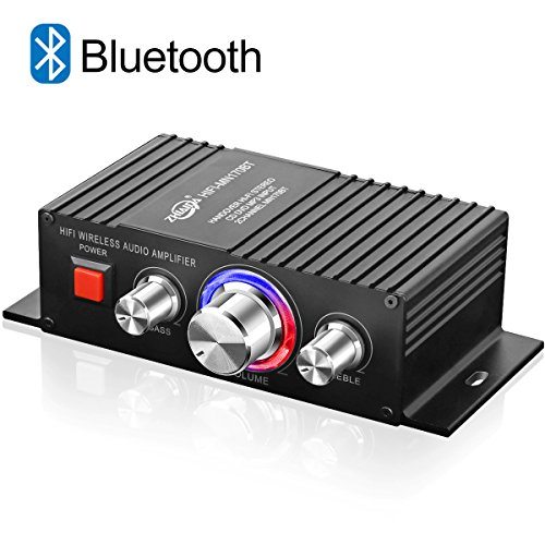 Mini Amplificatore Audio Bluetooth HiFi TTMOW 60Watt di Potenza, Super Bass Channel, Amplificatore...