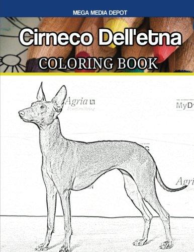 Cirneco Dell'etna Coloring Book