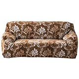 Domybest Cubierta del Sofá del Paño Grueso y Suave con Patrón Flores Vintage, Protector para Sofá Muebles