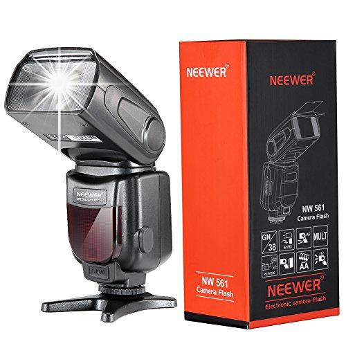 Neewer NW-561 Speedlite Flash con LCD Display per Canon & Nikon Fotocamera DSLR, come Canon EOS...