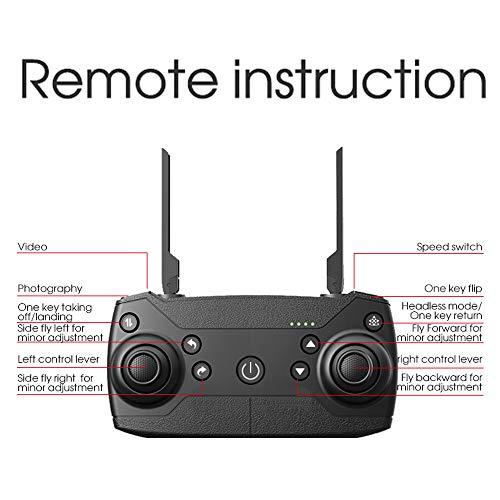 Tianya Drone X Pro 5G Selfi WIFI FPV GPS avec HD Quadcopter pliable RC 1080p pour la famille et les amis (noir) 12