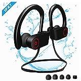 Etmury Bluetooth Kopfhörer Sport, IPX7 Wasserdichte bluetooth sport kopfhörer, 7-8 Stunden Spielzeit,Sportkopfhörer Bluetooth 4.1, In Ear Kopfhörer mit Mikrofon für Mikrofon für iOS/Android