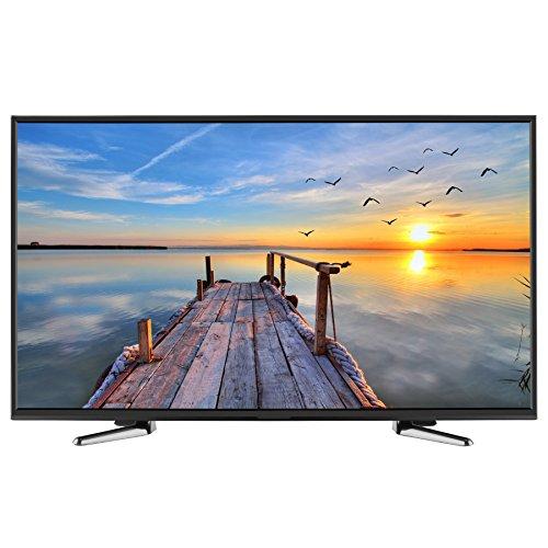 HKC 40K7A 40 zoll (100.3 cm) LED Fernseher ( Full HD, TRIPLE TUNER, DVB-T2 / T / C / S2 / S, H.265 HEVC, CI+, Mediaplayer via USB ) [Energie Effizienzklasse A] [Energieklasse A]