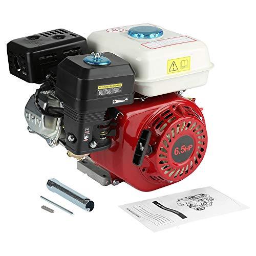 Motor de gasolina térmica, motor gasolina de 4tiempos 6,5CV Cilindrada 196ccm con Alame molde de aceite de refrigeración de aire