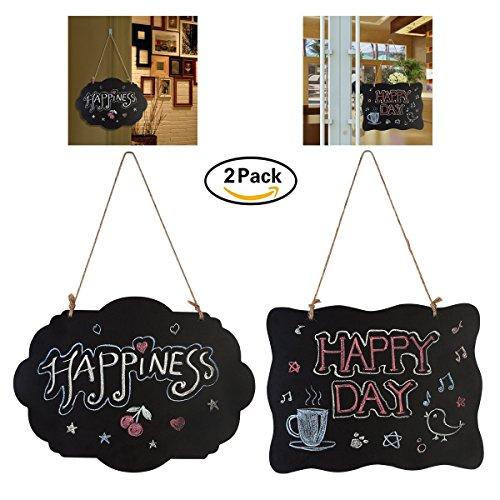 DesignerBox, 2lavagne tipo cartelli, dimensioni: 20,3cm x 25,4cm, in legno, double face,...