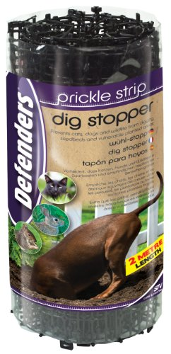 We recommend using this product on your beds and borders where you have problems with cats digging to deter them. Overall its very effective, its just takes a little time to get them setup and covered.