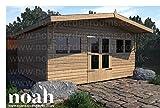 12x 10Avant Garde cobertizo resistente madera caseta de jardín/taller/garaje