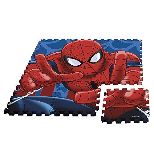 Rocco Giocattoli Spiderman-Tappeto Puzzle, MV92392
