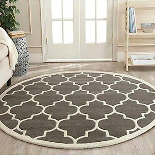 SESO UK- Tappeto Rotondo Moderno per la griglia del Salotto Grande tappeti di Villa (Dimensioni :...