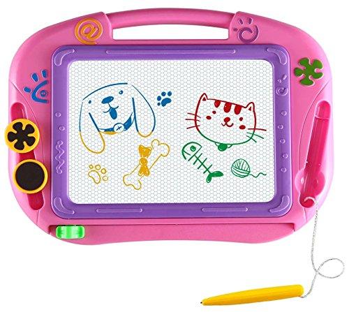 Miss EEDAN Lavagna Tavola da disegno magnetica Scarabocchio Giochi per bambini Blocco per scrivere...