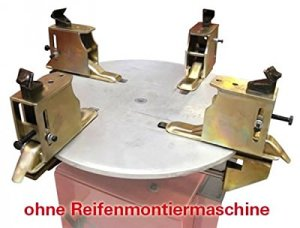 Motorradreifen Adapter 4tlg. für Reifenmontiermaschine 14