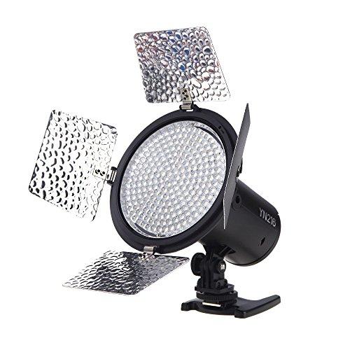 Yongnuo YN-216 Studio LED Video lampada della luce Video Light Lamp + 4pcs Piastra di temperatura di...