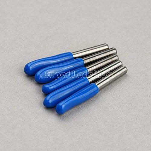 SHINA 10x Carbide PCB Engraving CNC Bit Router 25 Deg 0.3 mm