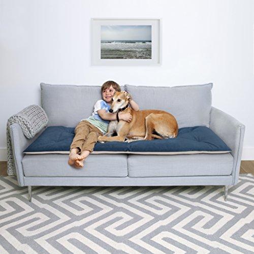 'Lounging Hound lusso Pet impermeabile velluto divano topper