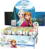 Dulcop- Disney 60Ml Frozen 591000 Bolle di Sapone, Multicolore, 60 mL, 8007315159104