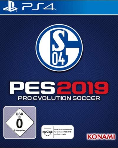 Konami PES 2019 Schalke 04 Edition PS4 USK: 6
