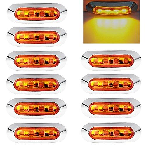 10 x Luci di Posizione Luci Laterali Luci di Posizione Indicatore LED Fanali Posizione Universale...