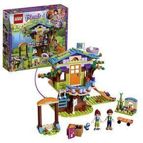 LEGO Friends - Casa en el Árbol de Mia, Juguete de Construcción con Mini Muñecas, Monopatín para Niñas y Niños de 6 a 12…