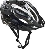 Trespass CRANKSTER Unisex Cycle Helmet BLACK S/M