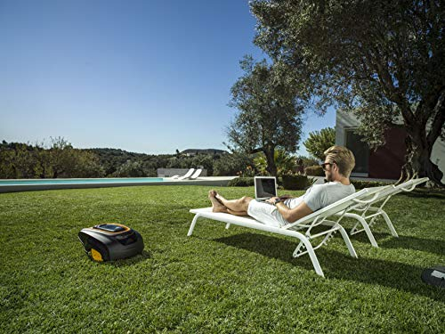 The Mcculloch ROB 1000 Robotic Lawn Mower certainly has the good features we look for in a robotic lawn mower. Its easily programmable, delivers good results, and its coverage is more than double of our 'Best Pick' by Flymo which makes it a good alternative if you have a large garden.