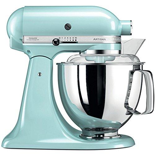 KitchenAid 5ksm175pseic, des équipements Robot Artisan avec Profi, glace bleu