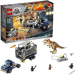 LEGO Jurassic World - Transporte del T Rex (75933)