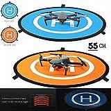 iMusk Drone e Quadcopter Landing Pad 22 Pollici (55 cm) RC Aircraft Soft Superficie di Atterraggio...