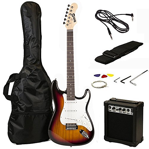 RockJam RJEG02-SK-SB Kit per Chitarra Elettrica