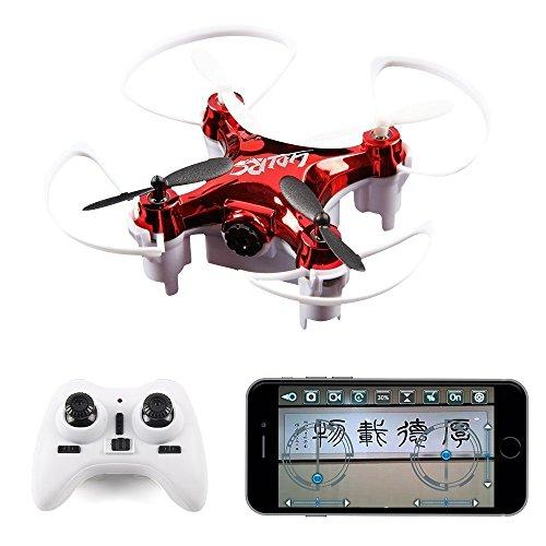 LIDI L7W (Meglio di CX10W) Mini WiFi FPV RC Quadcopter Drone per Principianti, Bambini con 0.3MP HD...