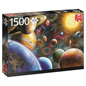 Jumbo- Planetas en el Espacio, Puzzle de 1500 Piezas (618586)