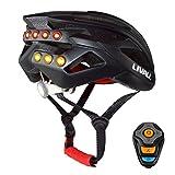 Livall Bling Casco de bicicleta inteligente con Bluetooth, color negro