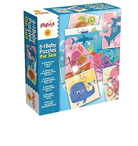 Ludattica 51427 - Puzzle 8+1 Baby Puzzle Mare