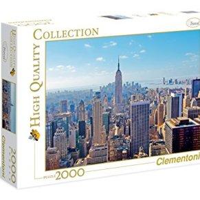 Clementoni - Puzzle 2.000 Piezas New York (32544.3)