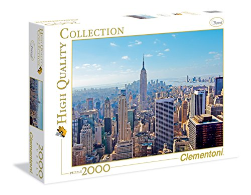 Clementoni - 32544 - High Quality Collection Puzzle - New York - 2000 Pezzi