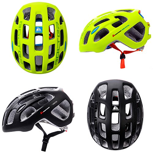 meteor Casco bicicletta Bolter casco da bicicletta per adulti e ragazzi unisex ciclismo hoverboard...