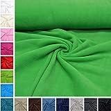 MAGAM-Stoffe 'Tessuto Paula in pile di eccellente qualità/UNI/bambini del tessuto/antipilling/metraggio da 50cm 06. Kiwi-grün