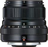 Fujifilm Fujinon XF 23 mm - Objectivo fijo (35mm, f/2, 1:2, 43 mm), color negro