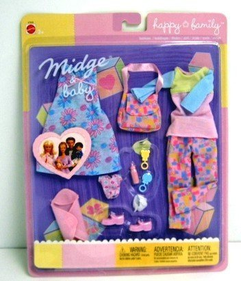 Mattel Barbie Moda Happy Family