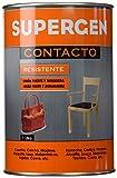 Tesa Tape 14020006 TESA 62600-00000-09-Pegamento de Contacto Supergen-Bote 1.000 ml, Amarillento, 1L