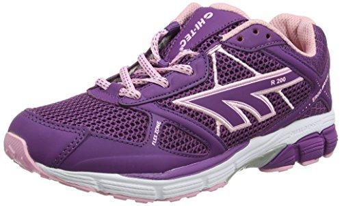 Hi-Tec R200 Zapatillas Deportivas para Interior Mujer, Rosa (Raspberry/pink), 42 EU (8 UK)