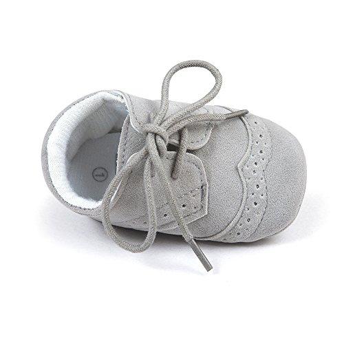 Scarpe da Ginnastica in Pelle PU per Bebè 6-12 Mesi