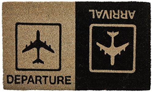 Young Generation YH101503 Shoe-Max Classic - Zerbino 'Arrival Departure' in fibre di cocco, retro...