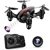 DROCON Drone Mini Pocket GD60 Telecamera di telecomando dell'elicottero HD Anti-vibrazione 720P Fashion Headless FLIPS E RUOLI 3D adatto per principianti