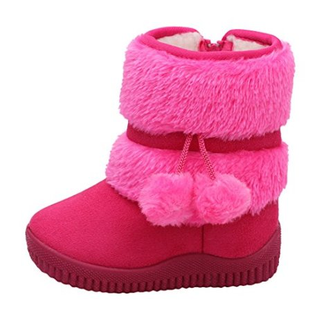 c8aa41003e2e8 Chic-Chic Enfant Bottes de Neige Hiver Fille Bébé Bottes d'hiver ...