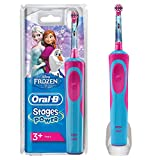Oral-B Stages Power Kids - Rechargeable Electric Toothbrush Frozen Blue/Red