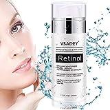 VSADEY Crema Antiarrugas Facial para Día y Noche 2.5% Retinol Crema Hidratante Facial Mujer,...