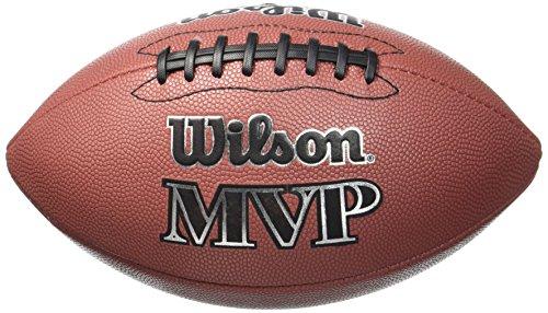 WILSON MVP Official, Pallone da Football Americano Unisex-Adulto, Marrone, Taglia Unica